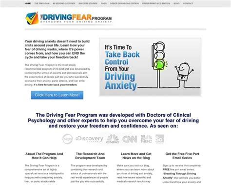 Driving Fear Program – High Conversions & Huge Commissions.