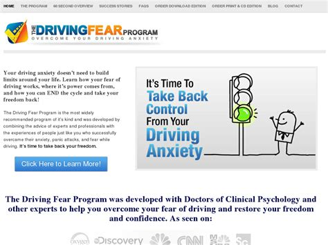 [click]driving Fear Program - High Conversions  Huge Commissions .