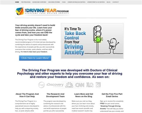Driving Fear Program High Conversions & Huge Commissions.