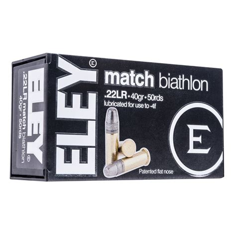 Eley Americas Club Ammo 22 Long Rifle 40gr Lead Round Nose .