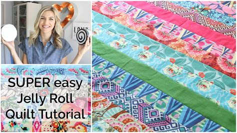 @ Easy Beginner Quilting Tutorial With A Jelly Roll.