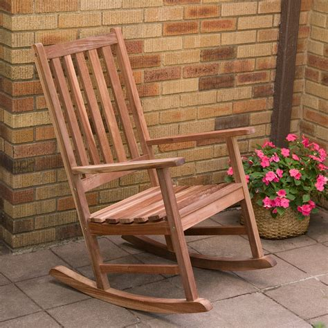 Easy Build Rocking Chair