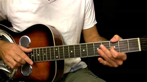 [click]easy Dobro Guitar Lesson In Open G Tuning.
