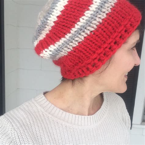 Easy Knit Hats