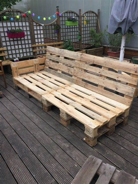 Easy Pallet Furniture Plans