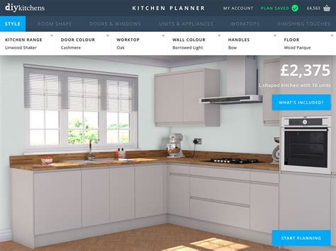 Easy To Use Free Kitchen Planner
