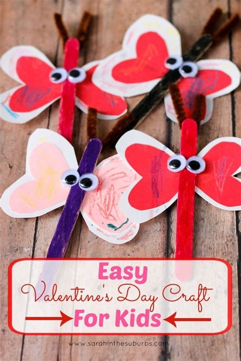 Easy Valentine Day Crafts For Kids