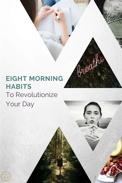 Eight Healthy Morning Habits To Physically, Mentally, And.