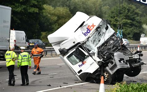 Eight Dead In M1 Minibus And Lorry Crash Newsymole.com.