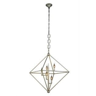 Elegant Lighting 1495d30sl Nora Collection Pendant Lamp .