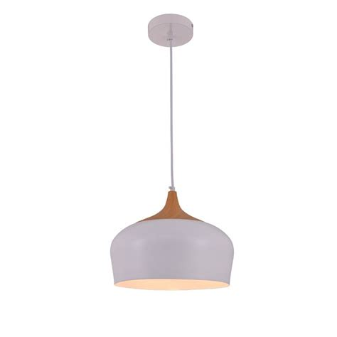 Elegant Lighting Nora Frosted White And Natural Wood One .