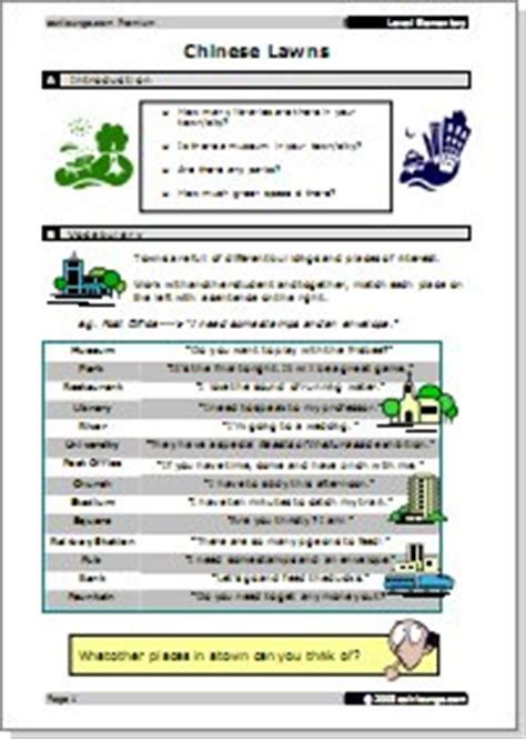 @ Elementary - Reading And Writing - Esl Lounge.