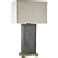 Elliot Bay Outdoor Lamp Grey Slate Table Lamps Slate .