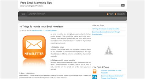 @ Email Marketing - Kuttappans Wordpress Com.
