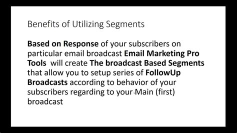 [click]email Marketing Pro Tools Settings.
