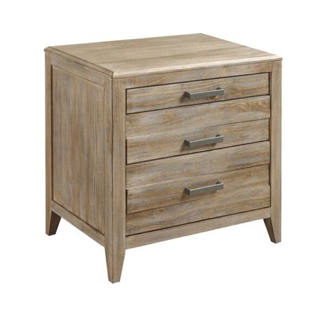 Emerald Home Torino 3-Drawer Nightstand Sandstone .