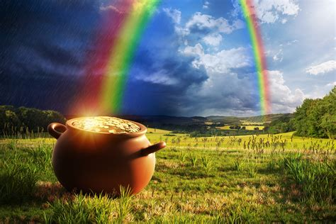 End of Gold Rainbow