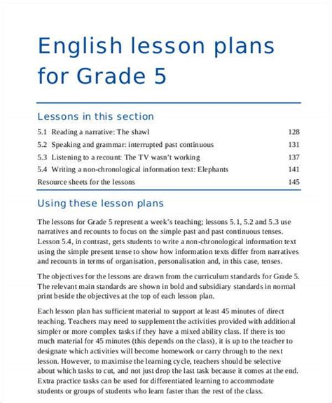 [pdf] English Lesson Plans For Grade 1 - Sec Gov Qa.