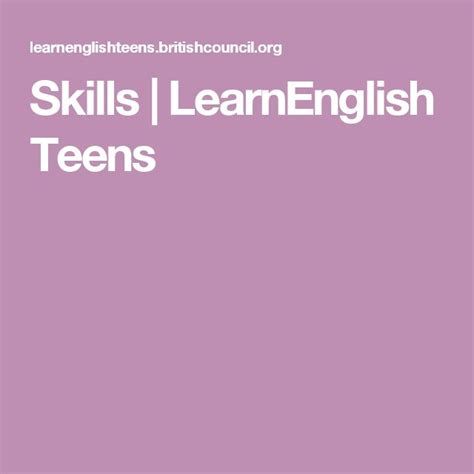 @ English Writing Skills Practice  Learnenglish Teens .