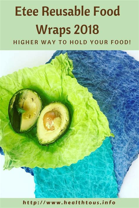 Etee - Eco-Friendly - Reusable Food Wraps How Do You Use.