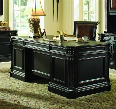 Executive Desk Black
