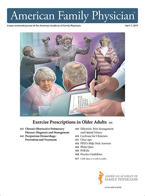 Exercise Prescriptions In Older Adults - American Family Physician.