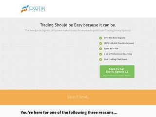 [pdf] Exotik Signals 3 0 - 90 Win Rate Binary Options Trading .