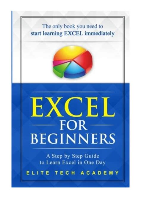 [pdf] Expert Excel For Beginners A Step By Step Guide To Learn .