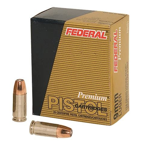 Federal Hydra-Shok Premium Personal Defense Ammunition .