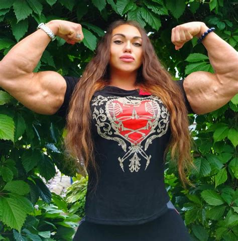 @ Female Muscle The Most Muscular Woman In The World.