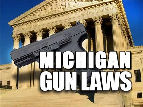 [pdf] Firearms Laws Of Michigan.