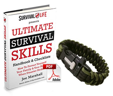 Free Firekable Paracord Bracelet From Survival Life — Survival Life.