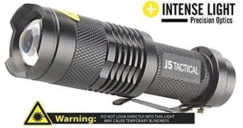 [click]free J5 Tactical Flashlight For Our Readers   The Good .