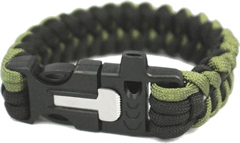 Free New Survival Gadget Firekable Paracord Bracelet Free Nifty.