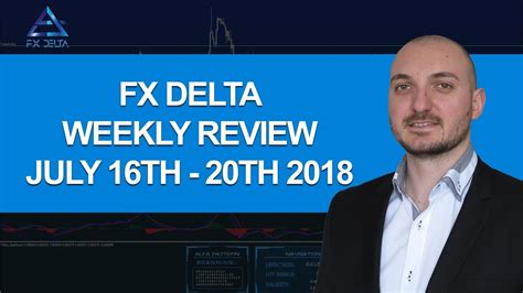 [click]fx Delta Weekly Review July 9th - July 13th 2018 - Yordan .