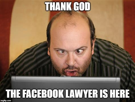 Facebook Lawyer Meme