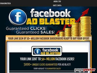 [click]facebookadblaster - Get 5000 Clicks - Sales Guaranteed.