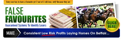 [pdf] False Favorites High Quality Horse Racing System Proven To Win.
