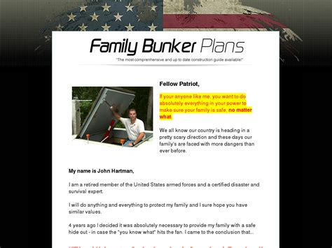 Family Bunker Plans - Top New Survival Product - Cb Snooper.
