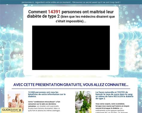 @ Fast Cl  Diab Te Type 2 - French Diabetes S Natural .