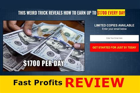 [click]fast Profits Review - Scam Or Legit - Online Income News.