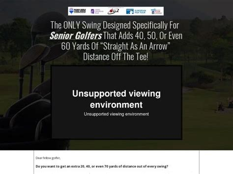 Fast The Best Converting Golf Offer On Cb - Proven On Cold Traffic.