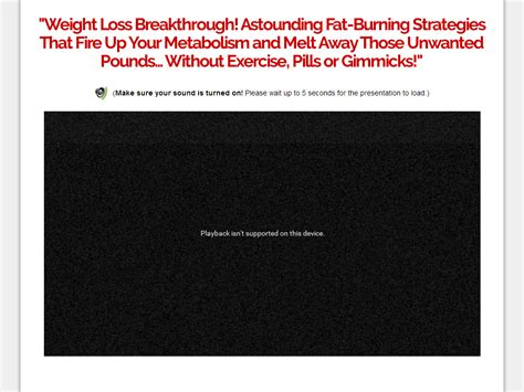 [click]fat Destroyer System - Stunning Sales Page Design High .