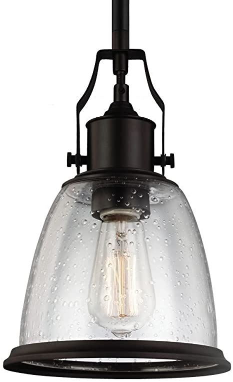 Feiss P1441sn One Light Mini-Pendant - - Amazon Com.