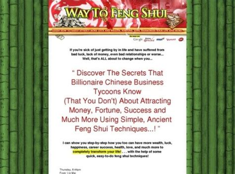 @ Feng Shui Secrets That Will Change Your Life - Plus 3 .