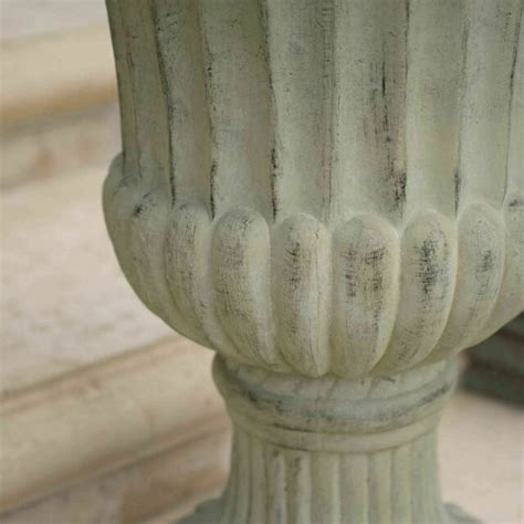Ferrara Antique Green Stone Planter For Sale Online - Ebay Com.