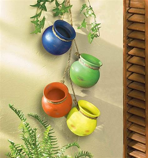 Fiesta Hanging Pots By Vgce - Amazon Com.