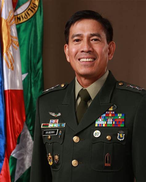 Filipino General in U.S. Army