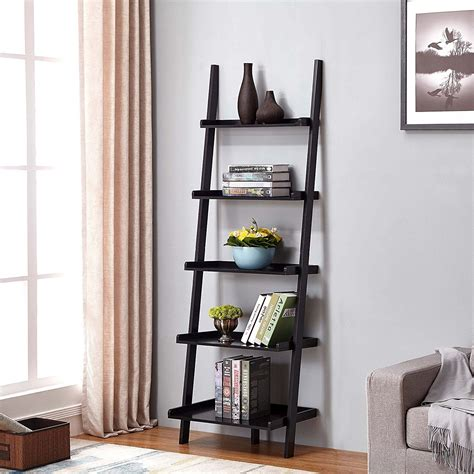 Find The Best Savings On 5-Tier Bookcase In Espresso Finish.