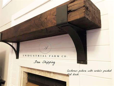 Fireplace Mantel Shelf Brackets